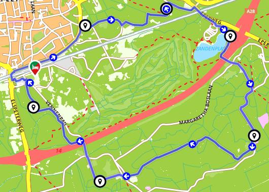 Wandelen Nunspeet - Wandelen door de bossen rondom Nunspeet