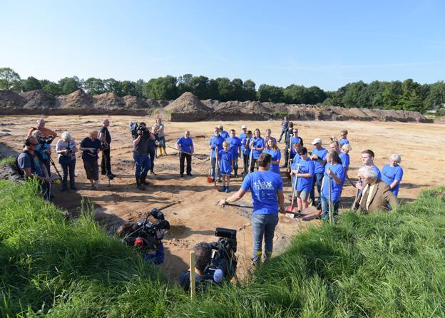 Wandelen in Dalfsen langs de archeologische opgravingen