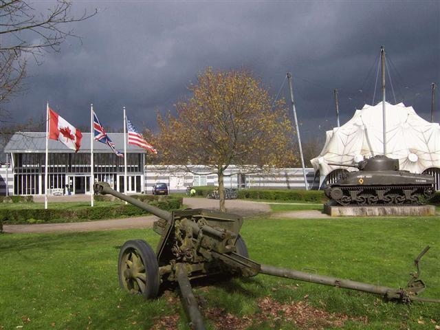 Het oorlogsmuseum in Groesbeek